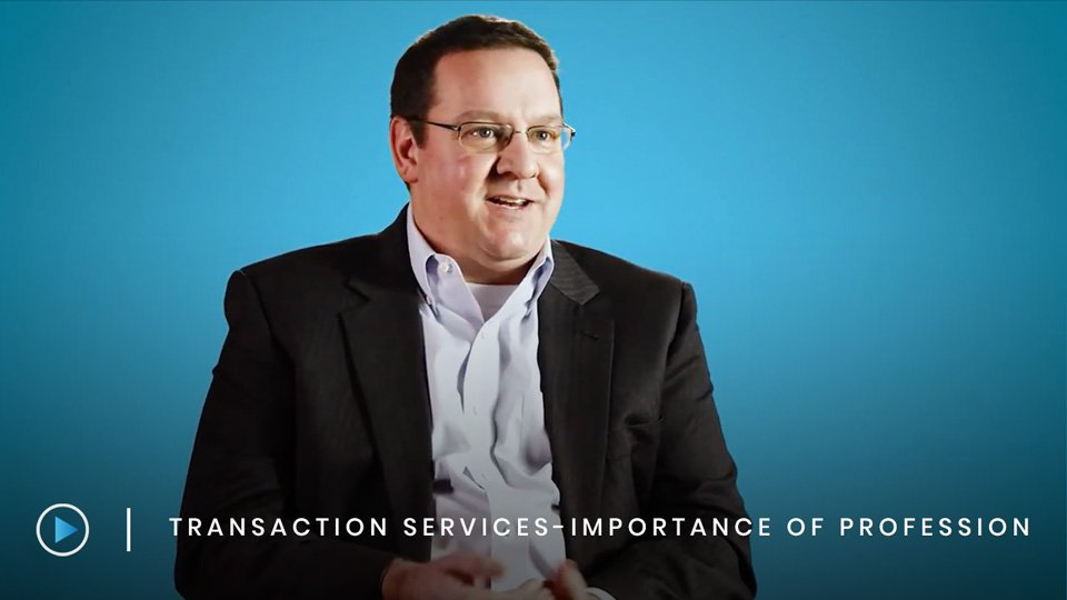 Transaction Services – Importance of a professional perspective