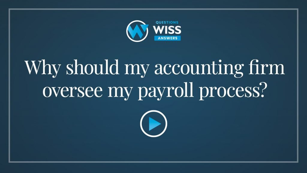 Why Your Accounting Firm Should Manage Your Payroll