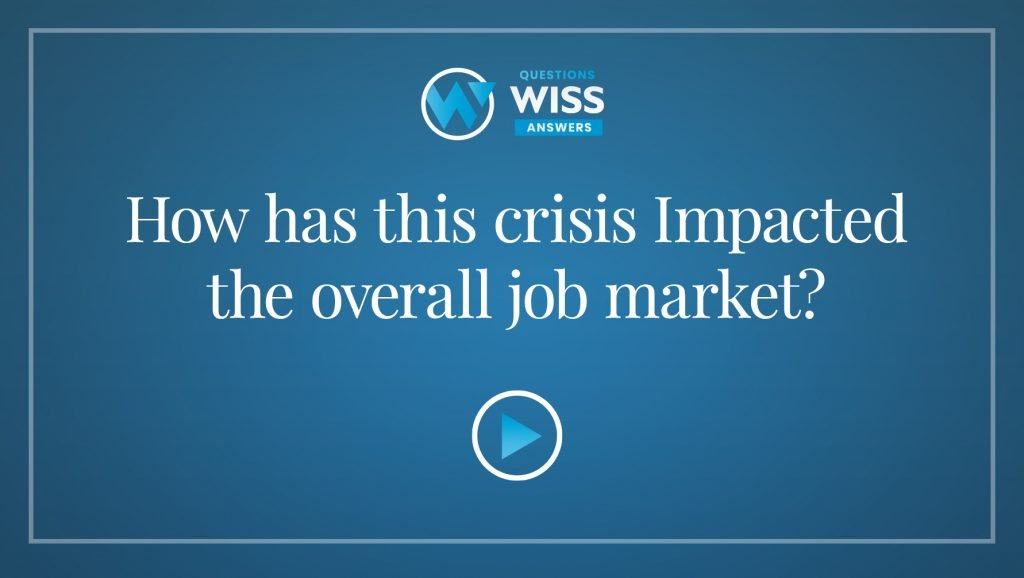 How has this crisis Impacted the overall job market?